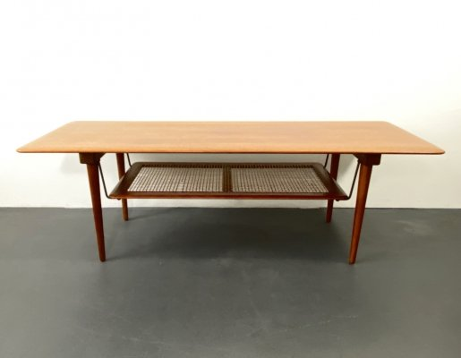 FD 516 Teak Couchtable by Peter Hvidt & Orla Molgaard Nielsen for France & Son