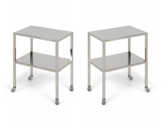 Industrial Chrome Trolley by Philippe Starck, 1990s