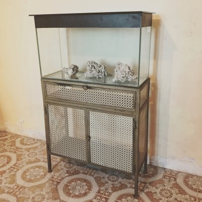 Midcentury Aquarium made in Italy, 1950s
