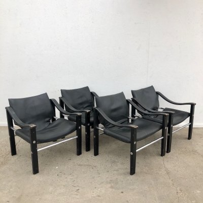 Vintage Arkana safari chairs by Maurice Burke, 1960s