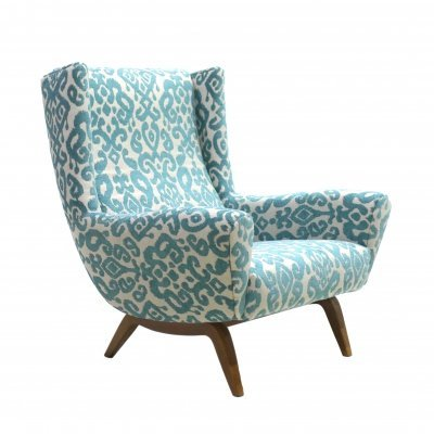 Mid-Century Armchair by Illum Wikkelsø for Søren Willadsen