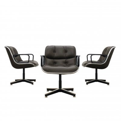 Executive Chair by Charles Pollock for Knoll International