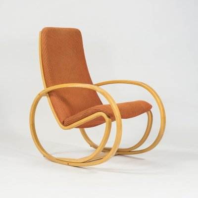 Danish Rocking chair EJ25 by Jørgen Gammelgaard for Erik Jørgensen Møbelfabrik