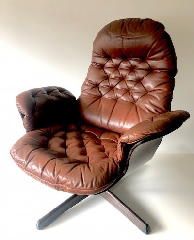 Rare lounge chair by Göte-Möbler, Sweden 1970s