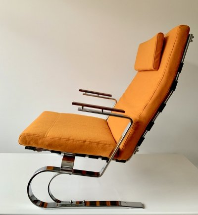 Comfortable seventies lounge chair