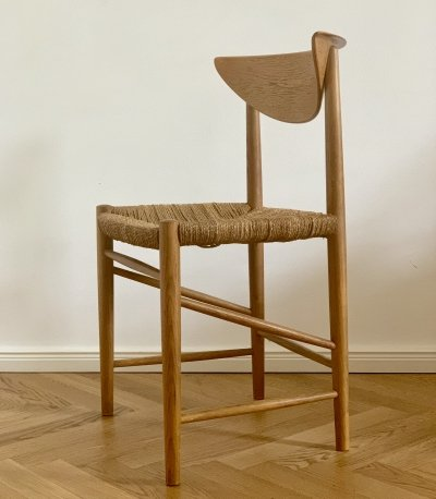 Set of 8 Danish Dining Chairs from Hvidt & Mølgaard-Nielsen