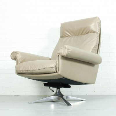 DS31 highback swivel chair by de Sede Switzerland, 1970s