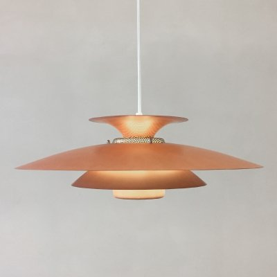 Danish Type 1090 hanging lamp by Jeka Metaltryk, 1970s