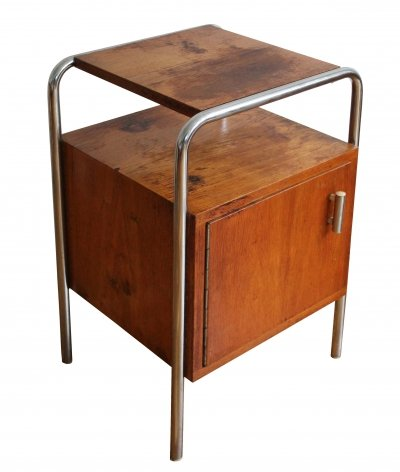 Modernist Bedside Table by Mucke Melder