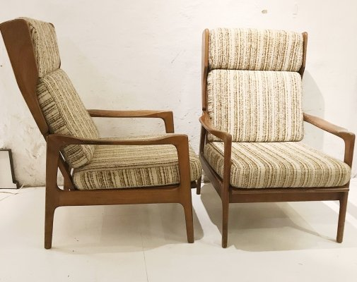 2 x vintage lounge chair, 1970s