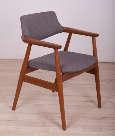 Teak Model GM11 Armchair by Svend Åge Eriksen for Glostrup, 1950s