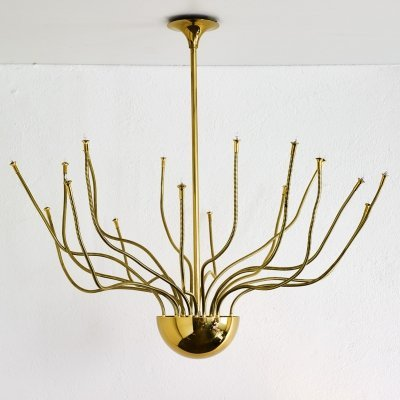Big ceiling light by Florian Schulz, 1980s
