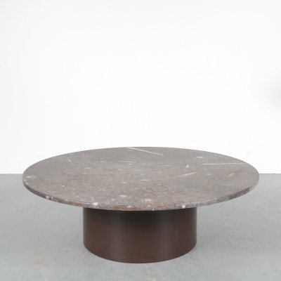 Fossil inlay coffee table by Heinz Lilienthal, Germany 1970