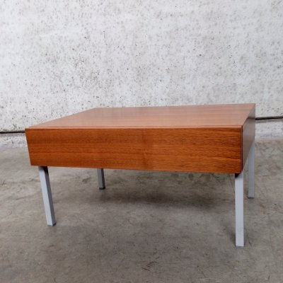 1960's Rosewood Nightstand / Sidetable with drawer by Interlübke Design
