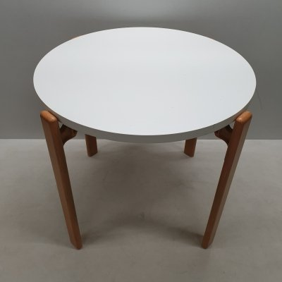 Very rare round dining table by Bruno Rey for Dietiker, 1970s