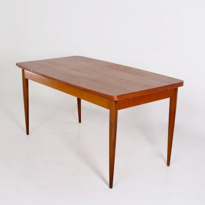 Extendable dining table by Oswald Vermaercke, 1950's