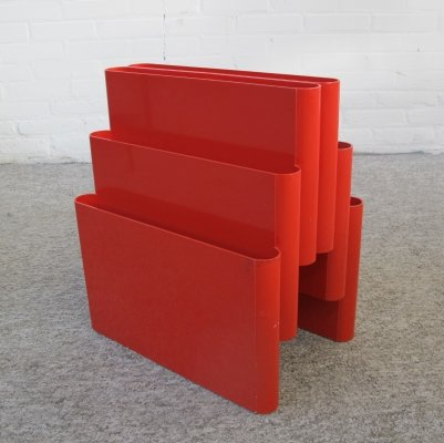 Vintage Magazine Rack by Giotto Stoppino for Kartell, 1970s