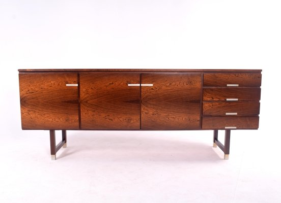 Mid Century Rosewood Kai Kristiansen Sideboard for F M Møbler