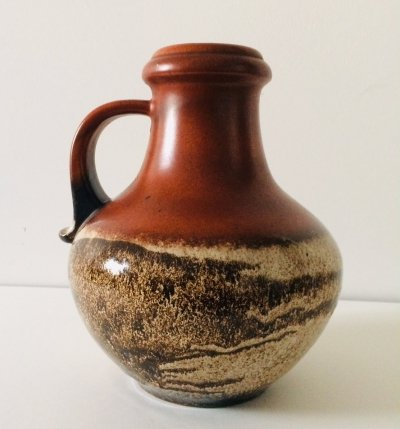 Ceramic Vase 423-28 by Scheurich, West Germany 1960s