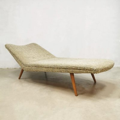 Rare Vintage Dutch design daybed by Theo Ruth for Wagemans & van Tuinen