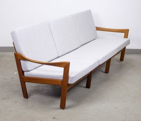 Danish Teak Lounge Sofa by Illum Wikkelsø for Niels Eilersen, 1960s