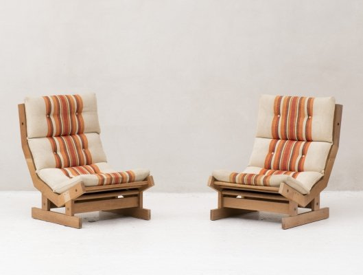 Set lounge chairs by Laboremus, Danish design 1970's