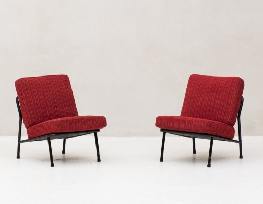 Set of 2 easy chairs 'model 013' by A. Svensson for Dux, Sweden 1970's