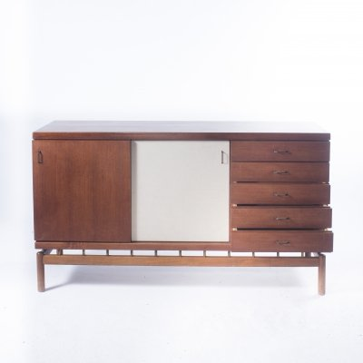 Rare Sideboard by Ilmari Tapiovaara for La Permanente Mobili Cantù, end 1950's