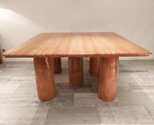 Il Colonnato Dining Table in marble by Mario Bellini for Cassina, 1970s