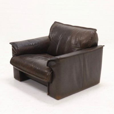 Neck Leather Armchair from Leolux, 1970s