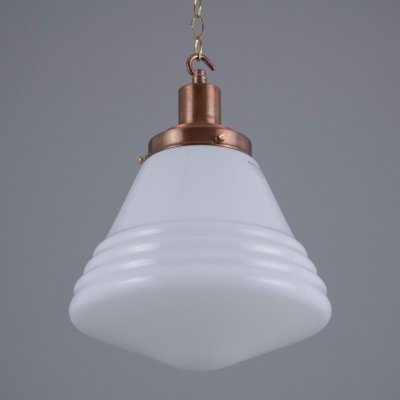Decorative 1930s opaline pendants by Phillips