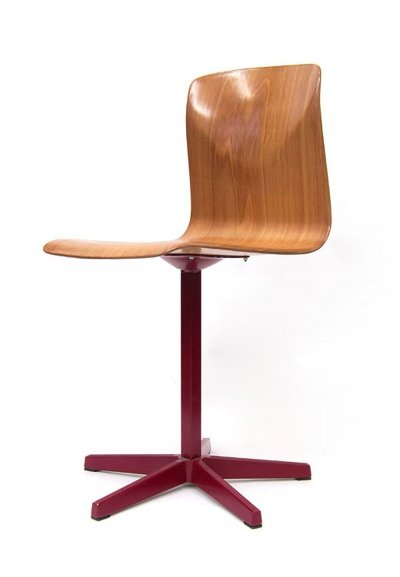 Pagholz industrial plywood chair, 1960s