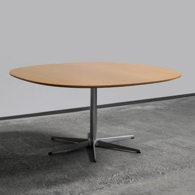 Rare late 60s dining table designed Piet Hein & Arne Jacobsen for Fritz Hansen