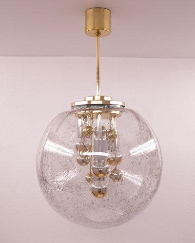 Large Doria Globe Ceiling Lamp