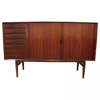 Arne Vodder Rosewood Highboard by Sibast, Denmark 1960