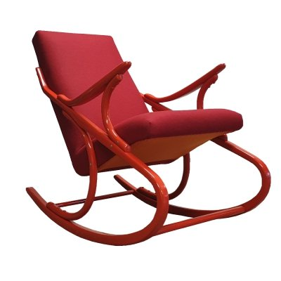 Rocking Armchair by TON, 1970s