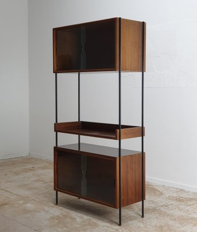 Stand alone cabinet or room divider in Rosewood
