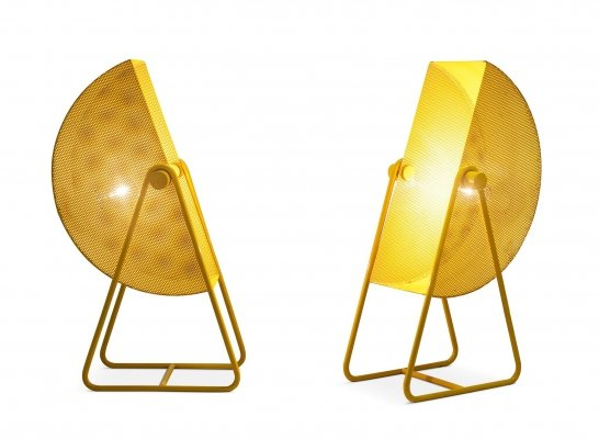 Bieffeplast Metal Table Lamps with Adjustable Shades, 1970s