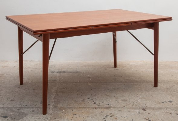 Dining table by Peter Hvidt & Orla Molgaard-Nielsen for Soborg Mobler, 1950s