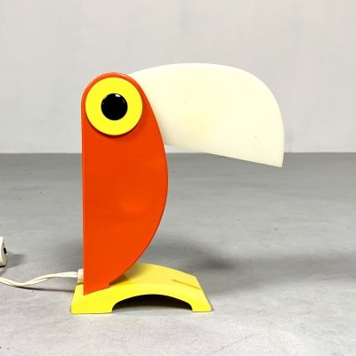 Toucan Table Lamp by Old Timer Ferrari, 1960s