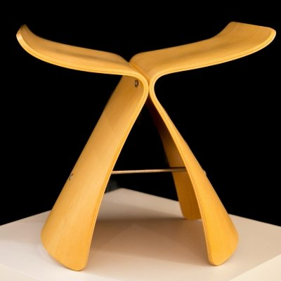 Butterfly stool by Sori Yanagi for Tendo, 1990s