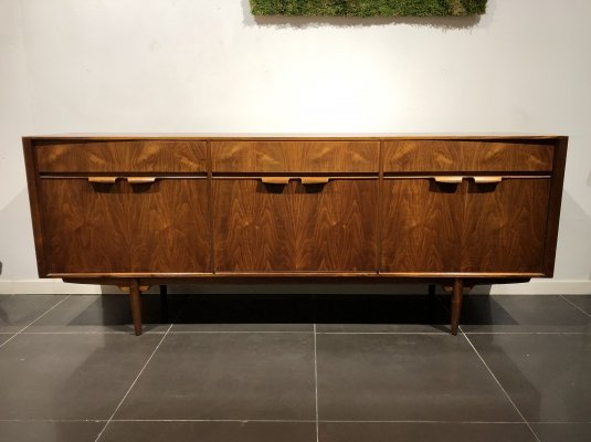 Rare Teak & Walnut Sideboard by McIntosh, 1960s