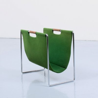 Green magazine holder by Brabantia, 1960s