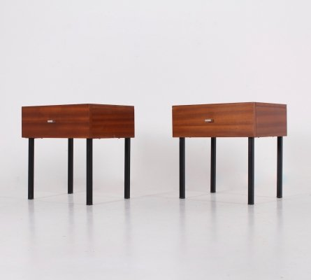 Pair of Modernist side tables by Pierre Guariche, 1960s
