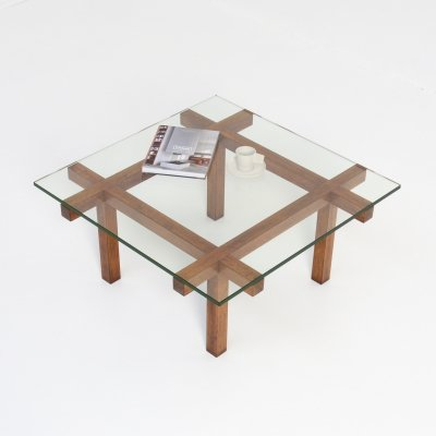 Minimalist Coffee Table by Alfred Hendrickx for Belform