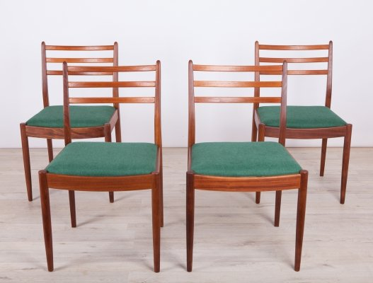 Set of 4 Vintage Teak Dining Chairs by Victor Wilkins for G-Plan, 1960s