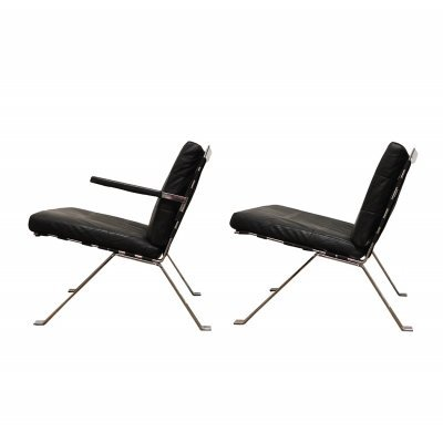 Pair of Easy Chairs by Hans Eichenberger for Girsberger, 1960s