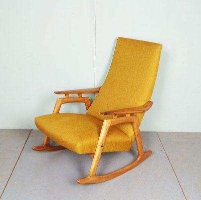 Vintage Danish Rocking Chair, 1960's