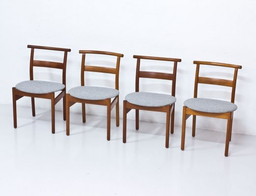 Set of 4 Chairs by Tove & Edvard Kindt-Larsen, 1950s
