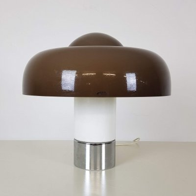 Harvey Guzzini Brumbry 4009 table light designed by Luigi Massoni, 1960s